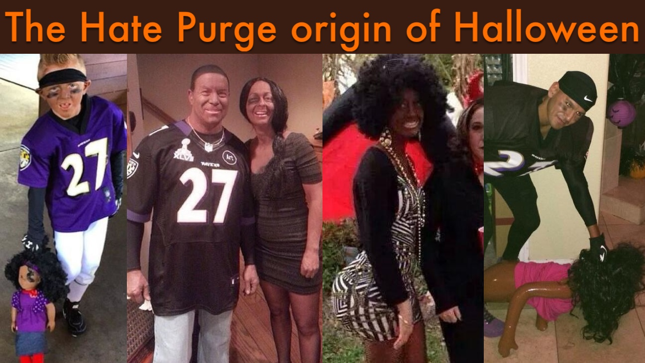Is Halloween 'the Blackface Purge' for White People? The Holiday's ...